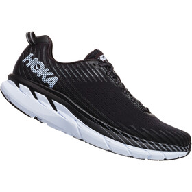 Hoka One One Clifton 5 Running Shoes Herren black/white